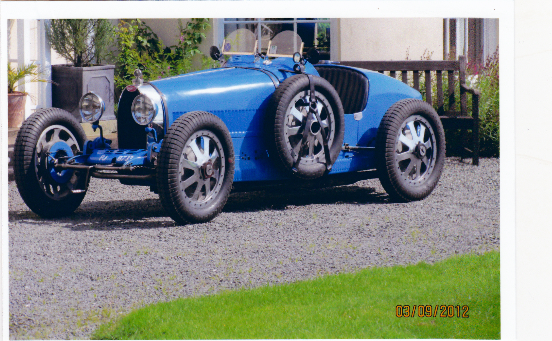 Bugatti type 35 GP 1925 ( Uk ) Venables-llewelyn  John