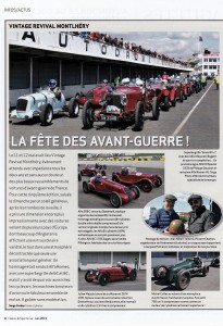Article CLASSIC & SPORTS CARS VRM 2019 PG 01