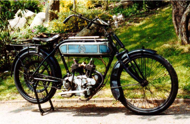Alcyon bi-cylindres 1914 ( Fr ) MANCHE LUC