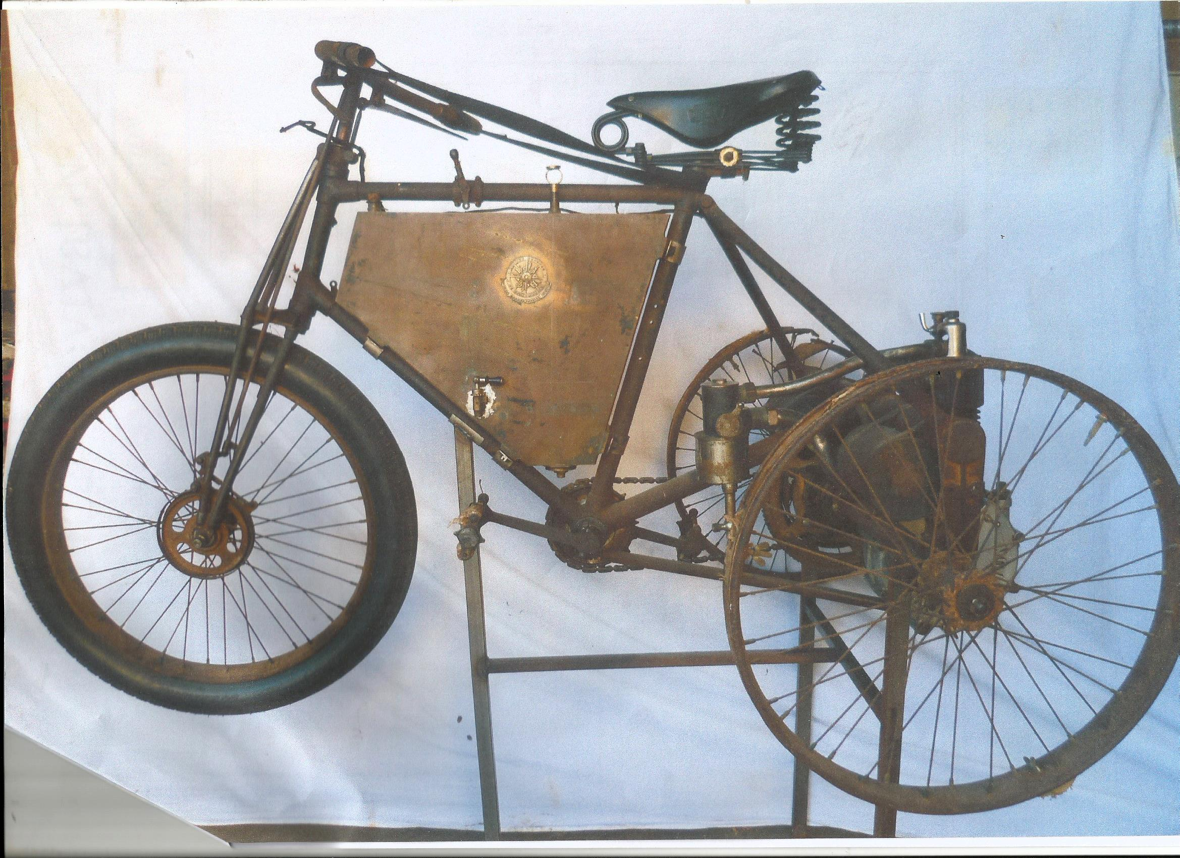 De Dion Bouton Tricycle 350cc 1900 N° 2362 ( Fr ) JUNCA Francis