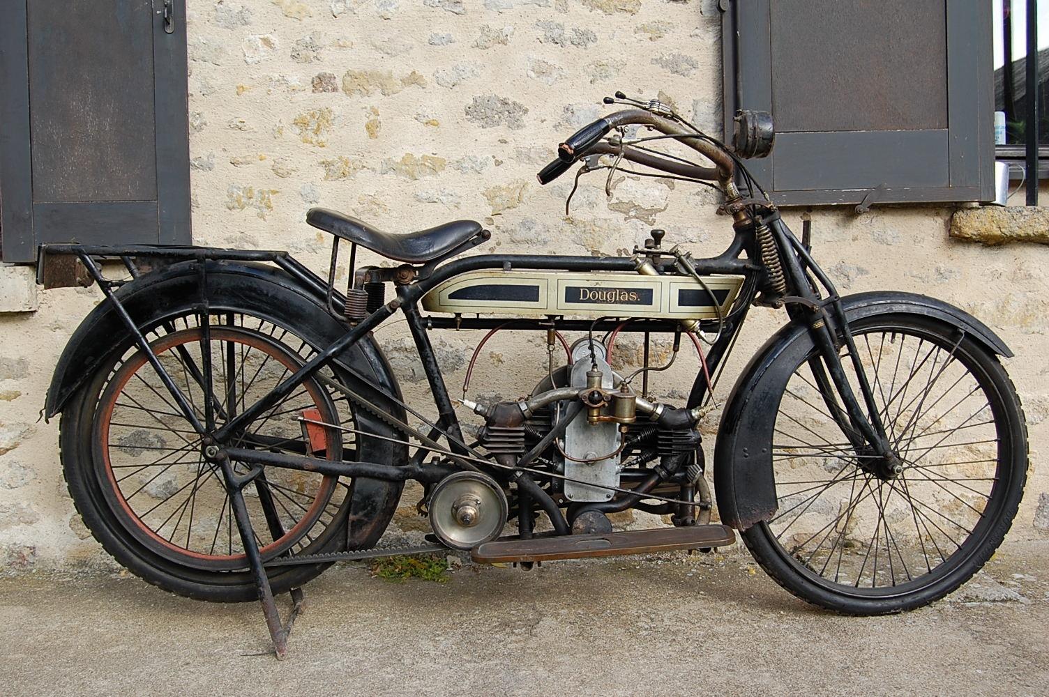 Douglas 2 3 4 HP 1914 ( Fr ) Marchand Olivier