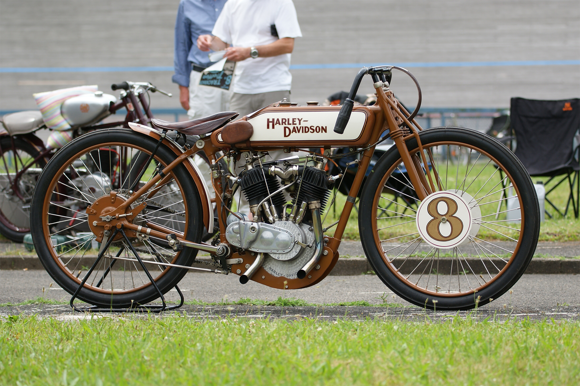 Harley Davidson Board Track Racer 1000cc 1920 ( De ) Michael Kretschmer