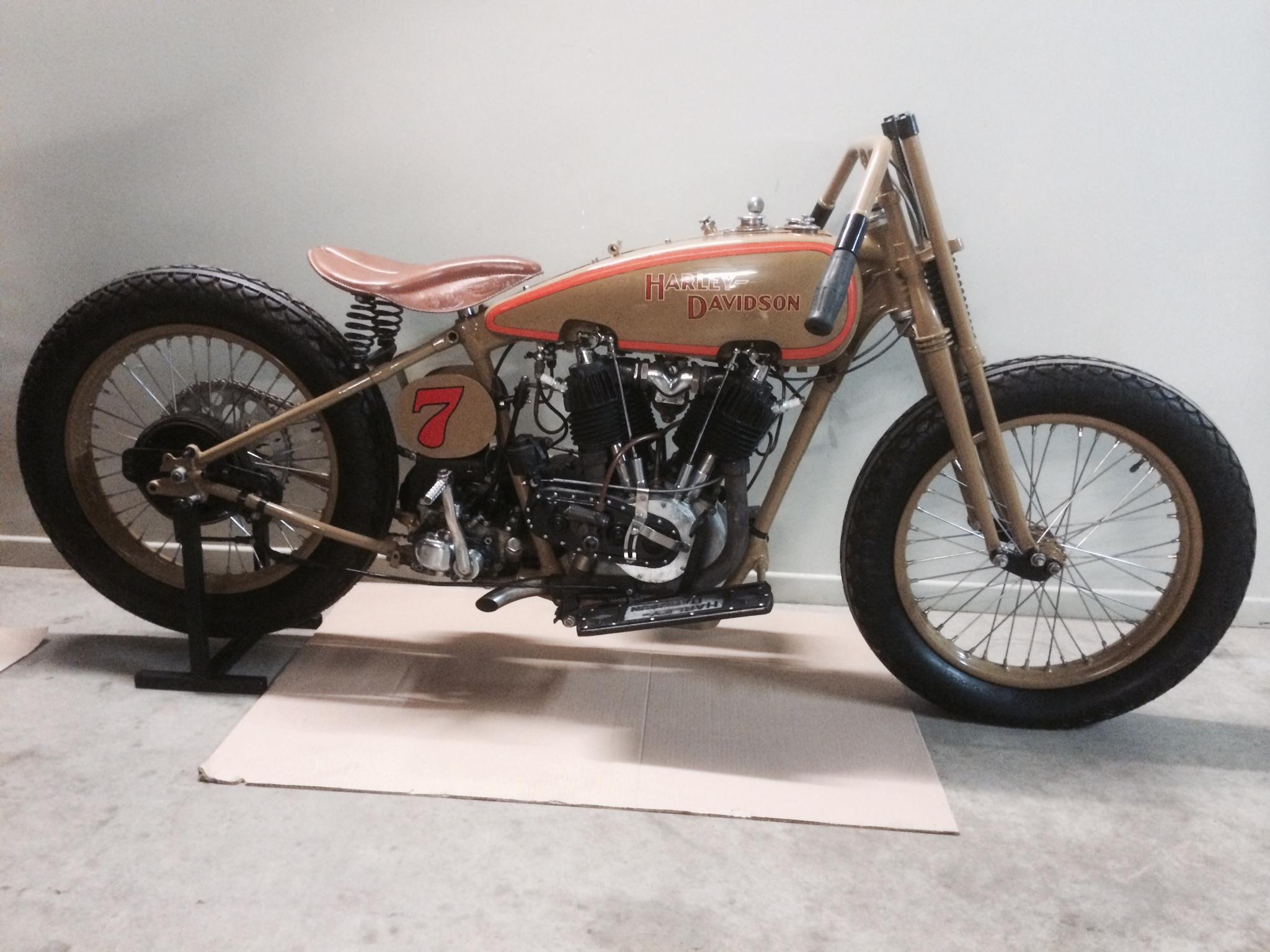 Harley-Davidson JD Boardtrackracer 1929 ( NL ) Ton Cornelissen
