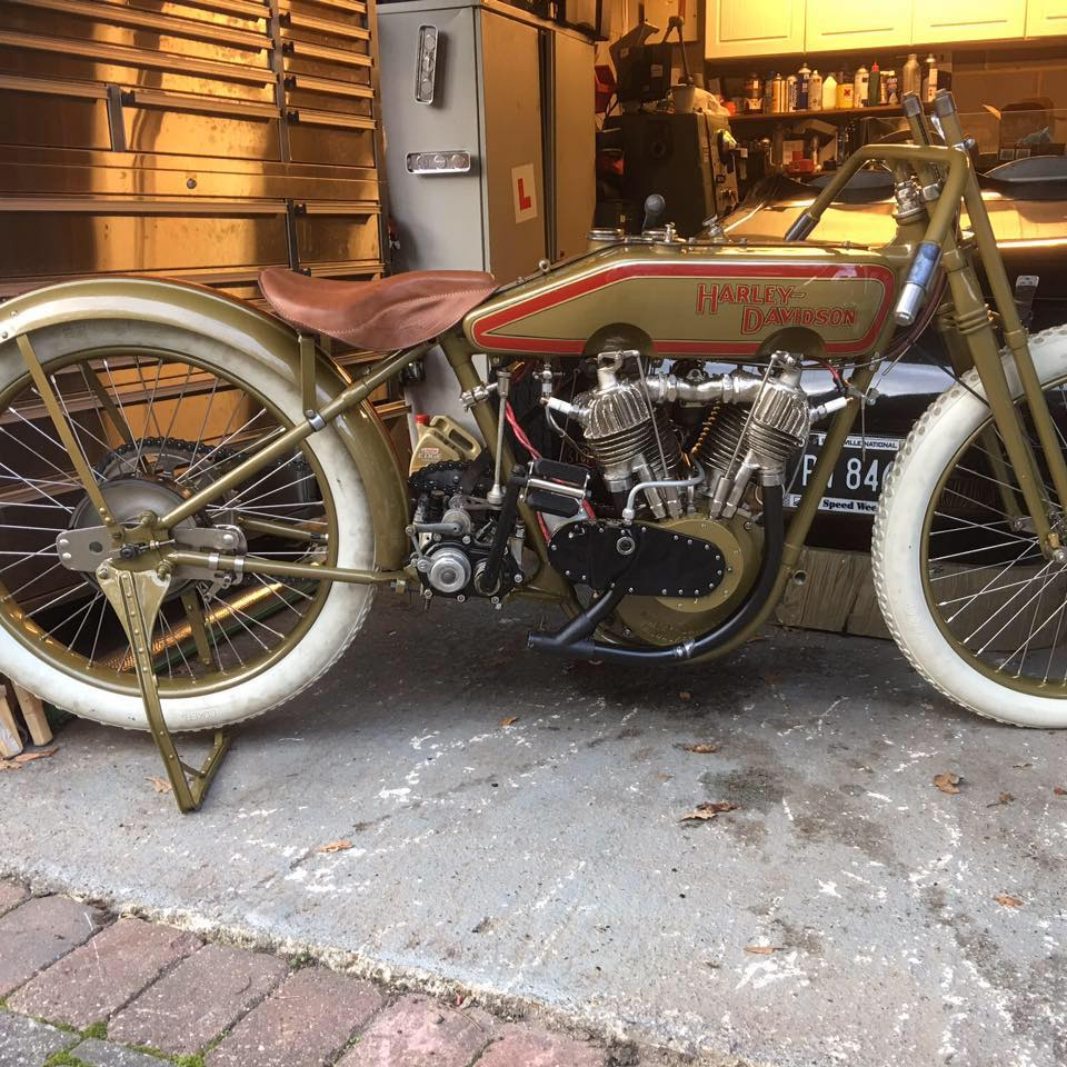 Harley Davidson Type J 1920 Boardtrack Racer ( Uk ) JESSE PETER