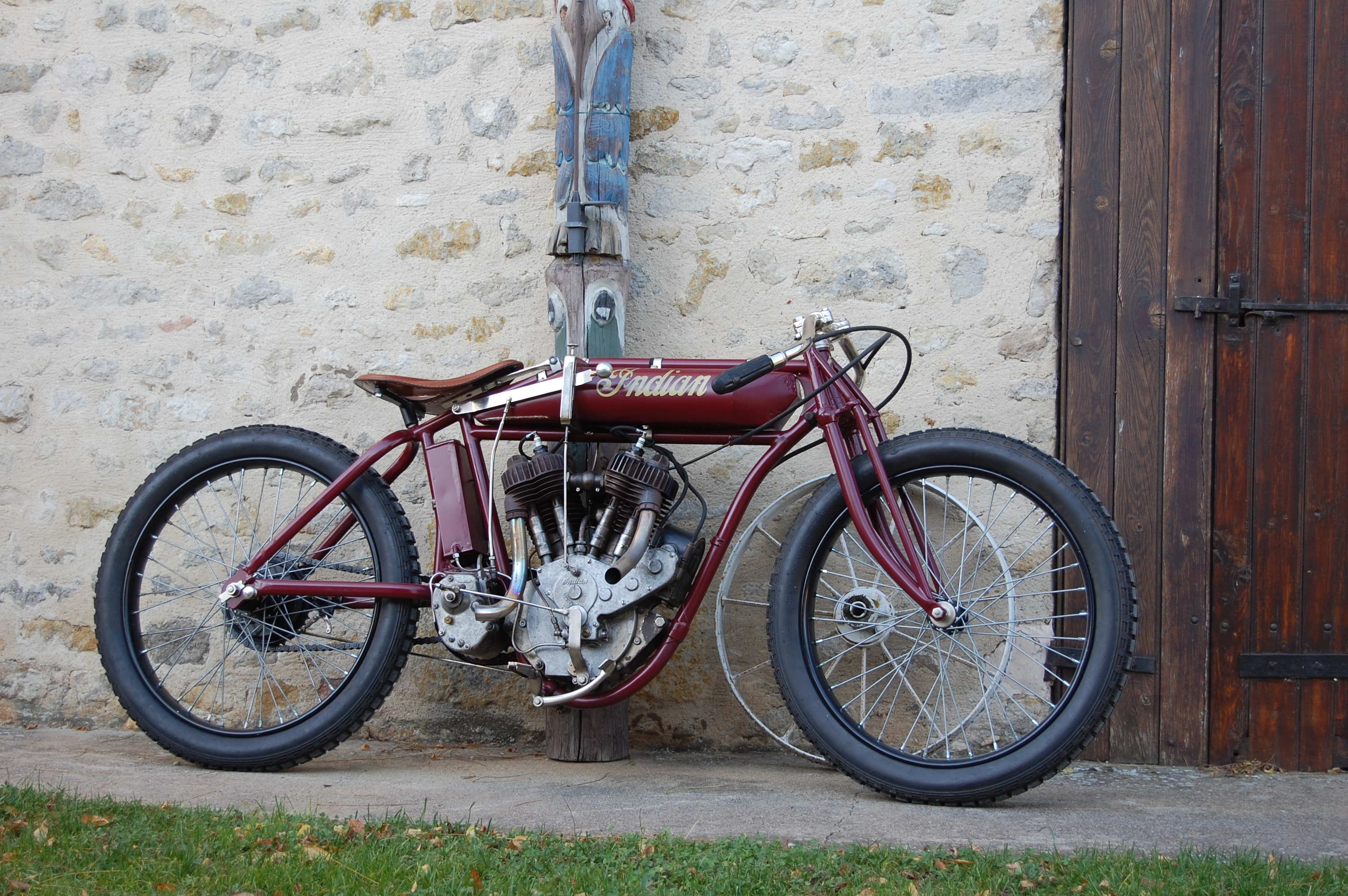Indian Racer solo 1000cc 1918 ( Fr ) Marchand Olivier (2)