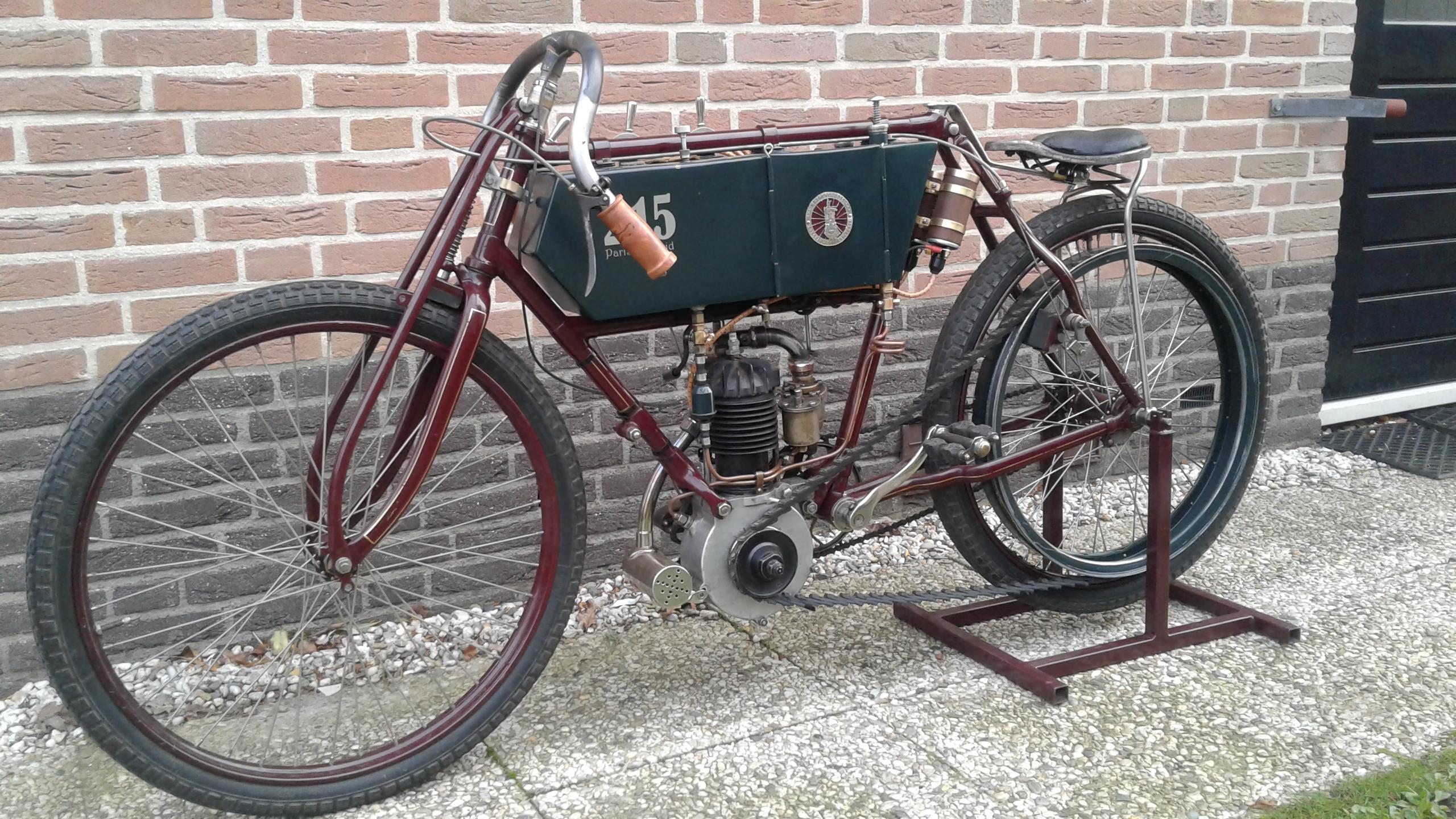 LURQUIN et COUDERT Type 614 240cc 1904 ( NL ) VALKENET PAUL