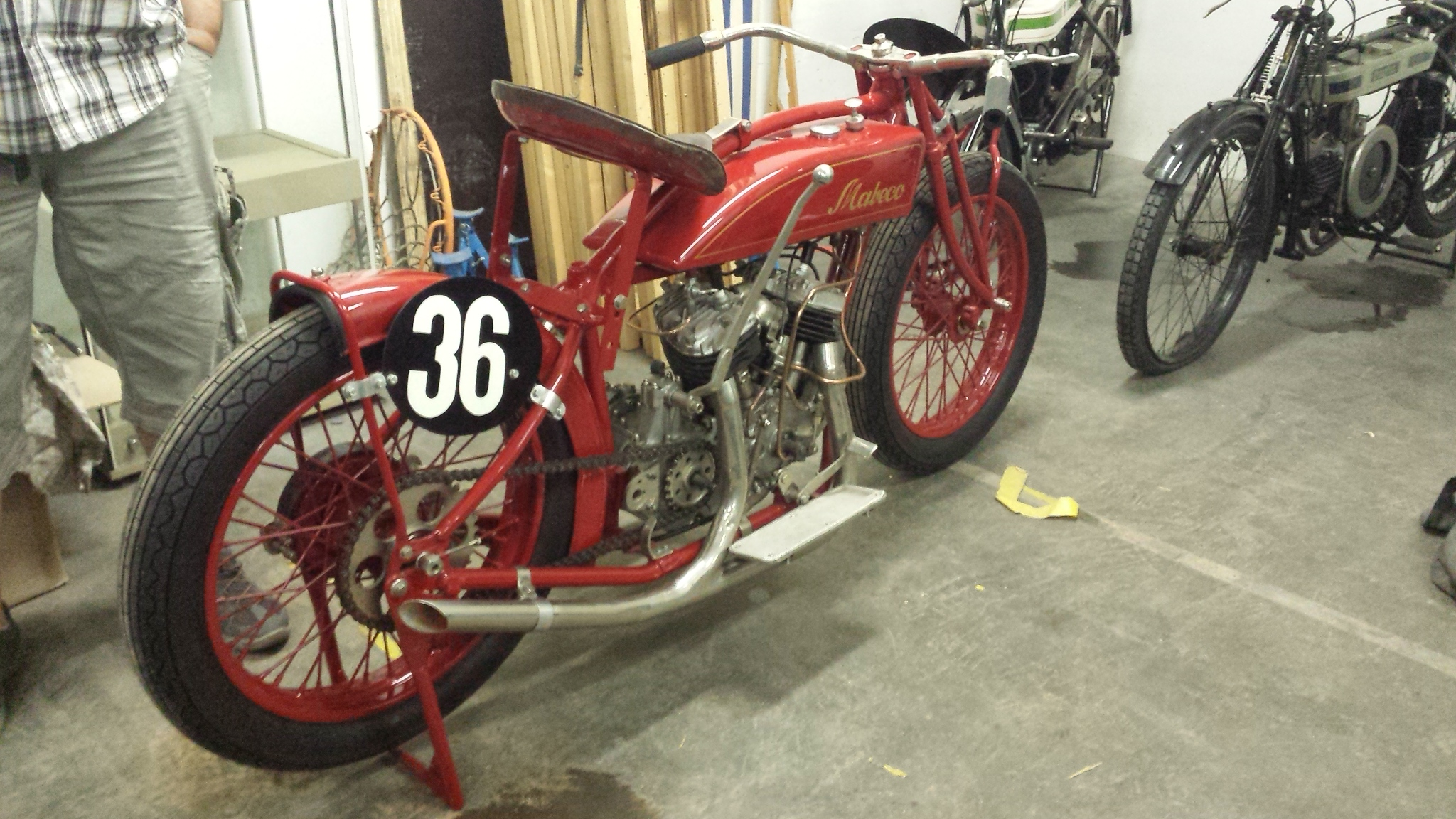 MABECCO 750cc Motodrome racer 1929 ( De ) bialuch Nils