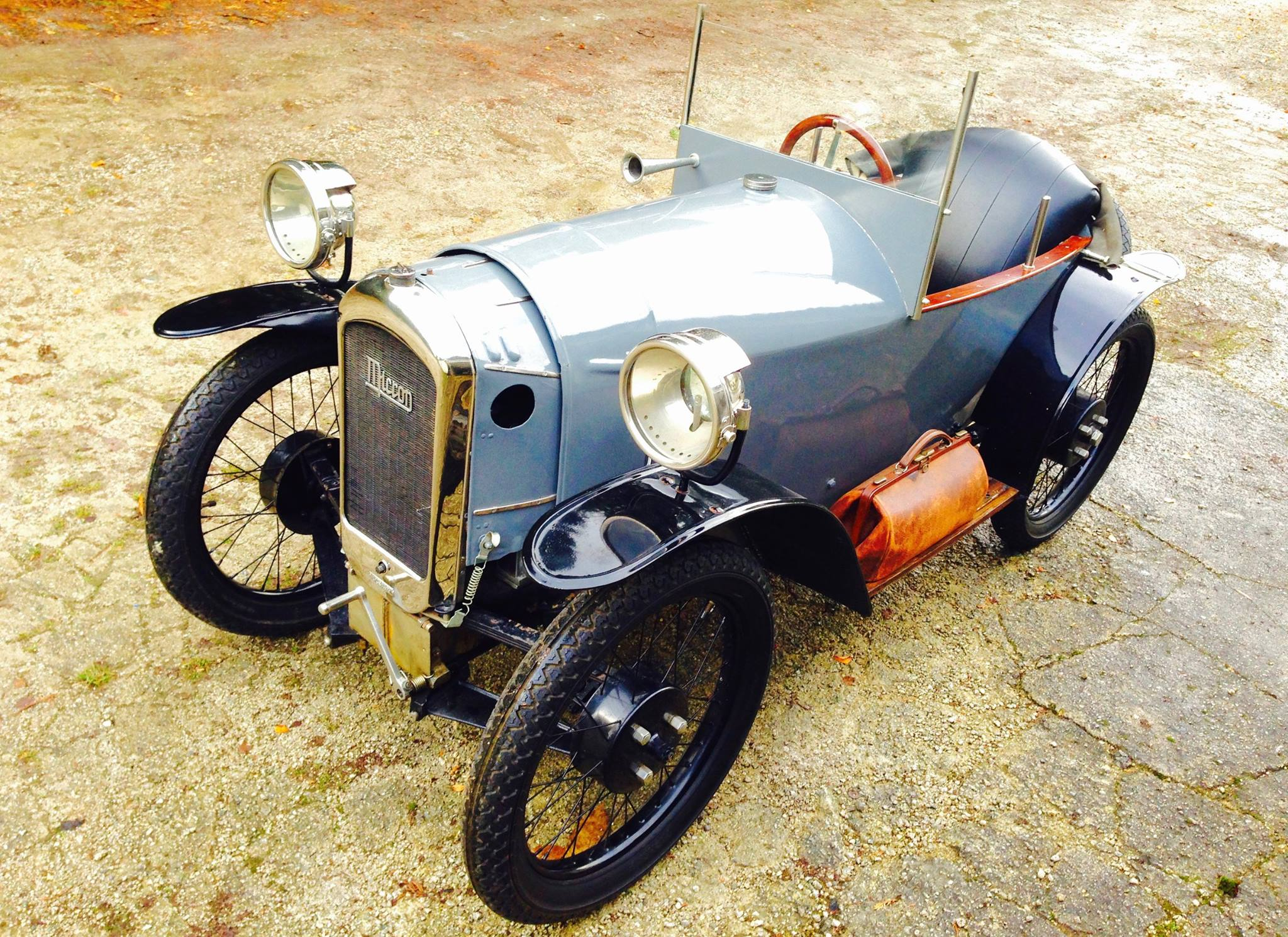 MICRON Cyclecar 350cc 1925 ( Be ) Hendrix Marc