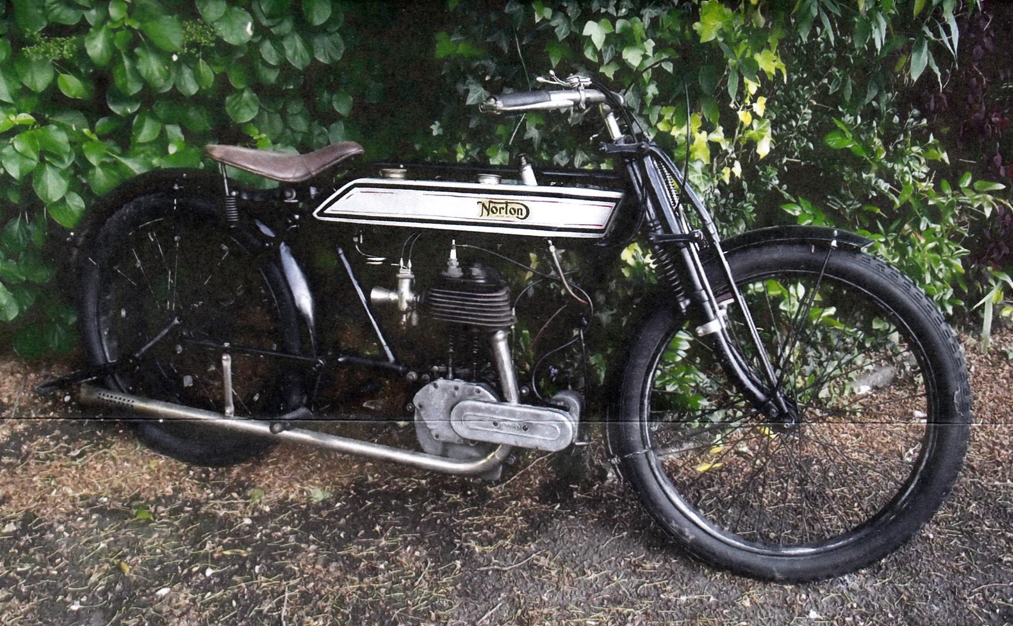 NORTON BSR 498cc 1916 ( Uk ) PARKER STEWART