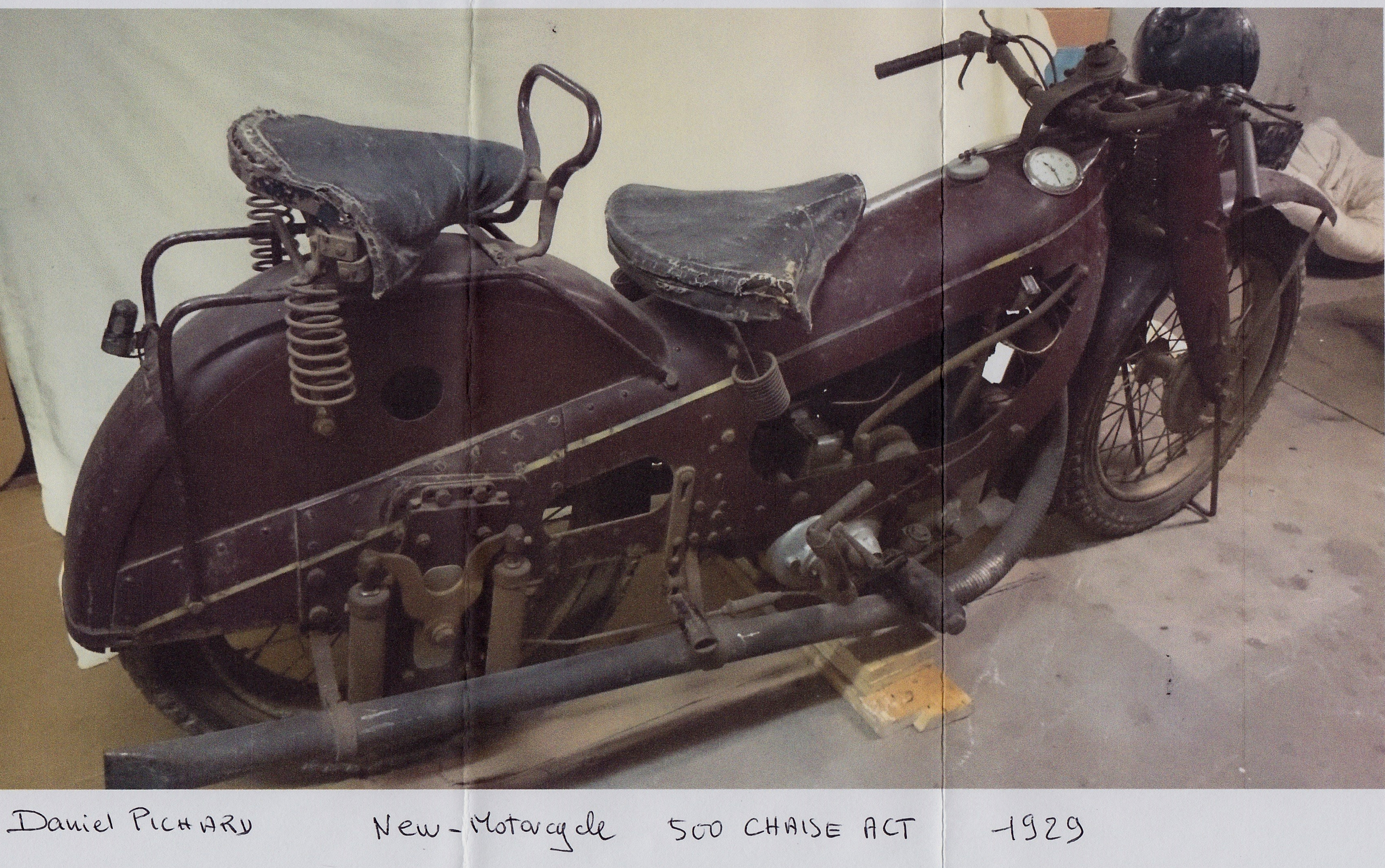 New Motorcycle 500 1929 ( Fr ) Pichard Daniel
