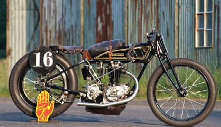 RUDGE Hundred Miles an Hour 500cc 1926 ( De ) Wehrmann Andreas