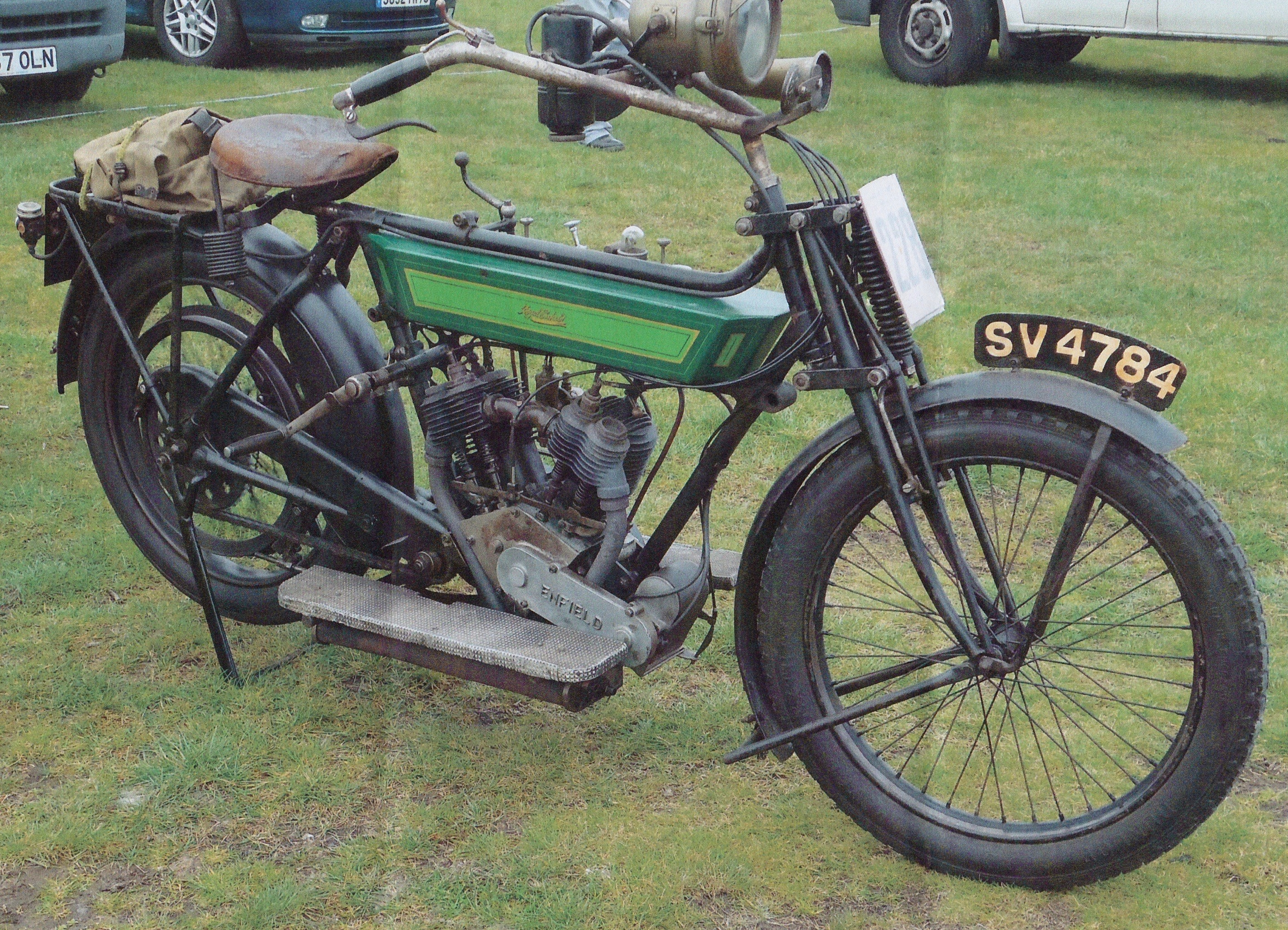 Royal Enfield 180 1912 ( UK ) SCUDDER RICHARD