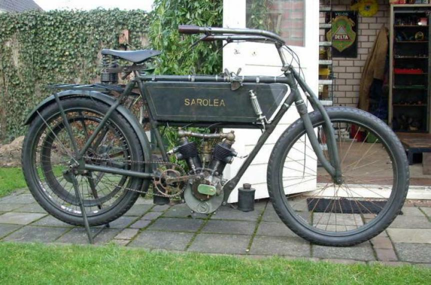 Sarolea 500cc 1907 ( Be ) DEVOS HANS