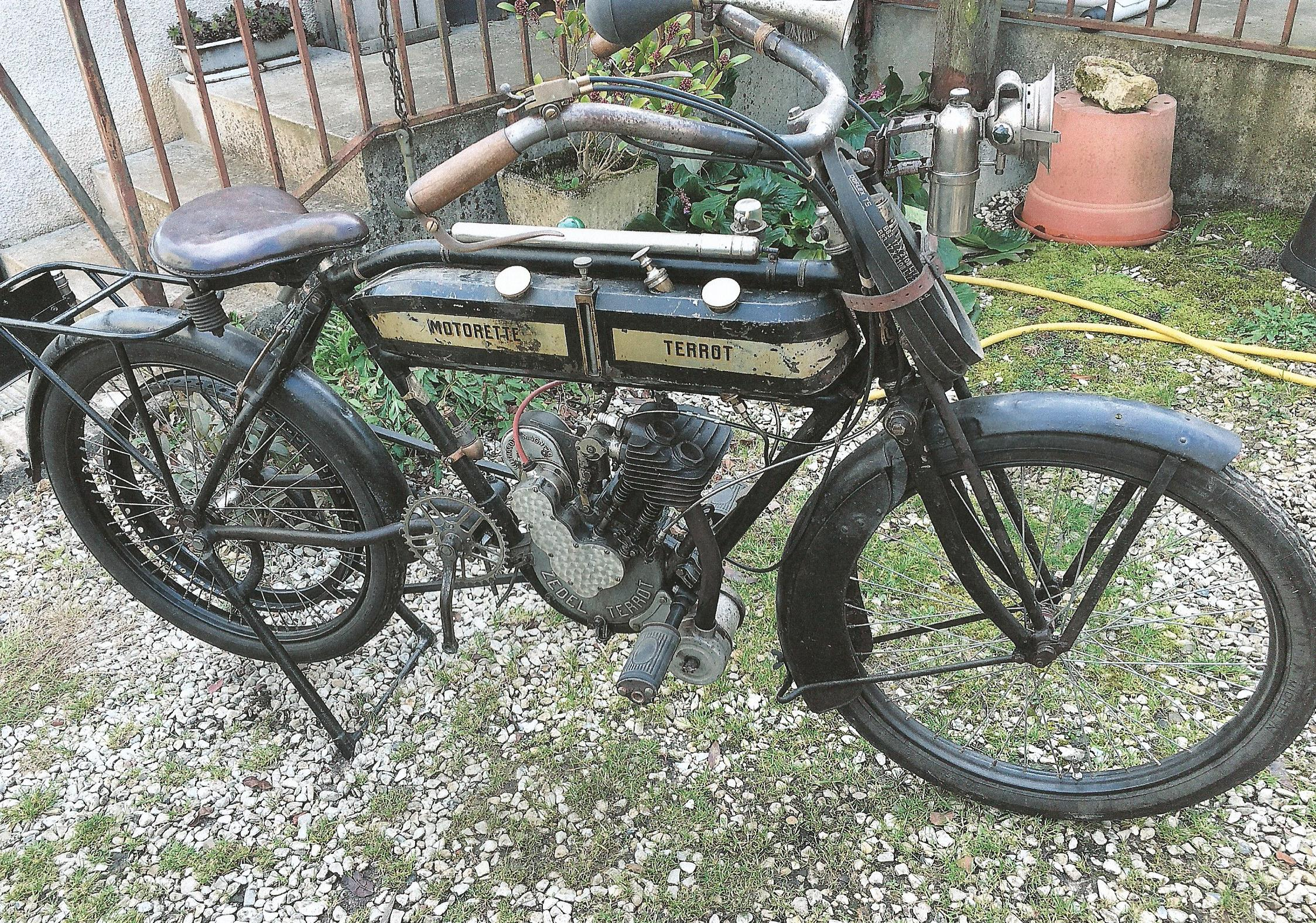 TERROT Motorette N°3 - 317cc 1914 ( Fr ) SCHLEGEL ALAIN