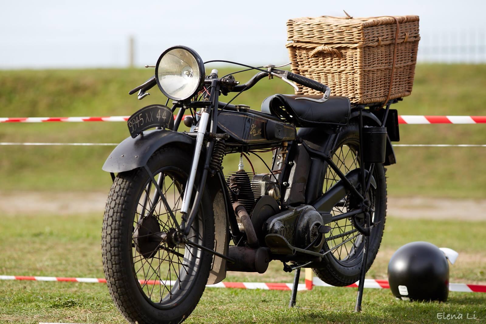 Terrot Model F 250cc 1926 ( NL ) NIJHOFF MARK