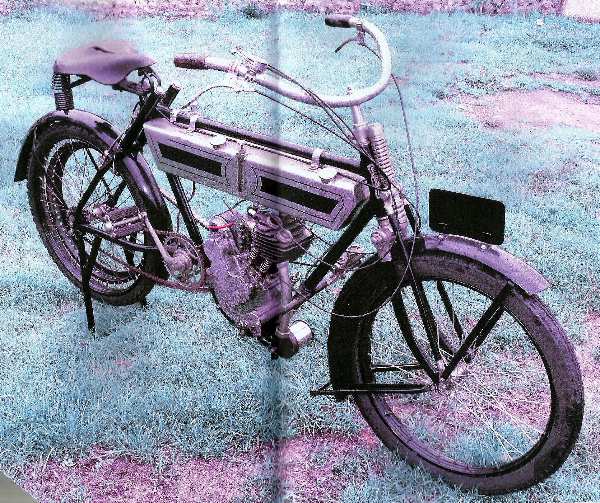 Terrot Motorette N°3 317cc 1913 ( Fr ) MARTIN Jean-Jacques