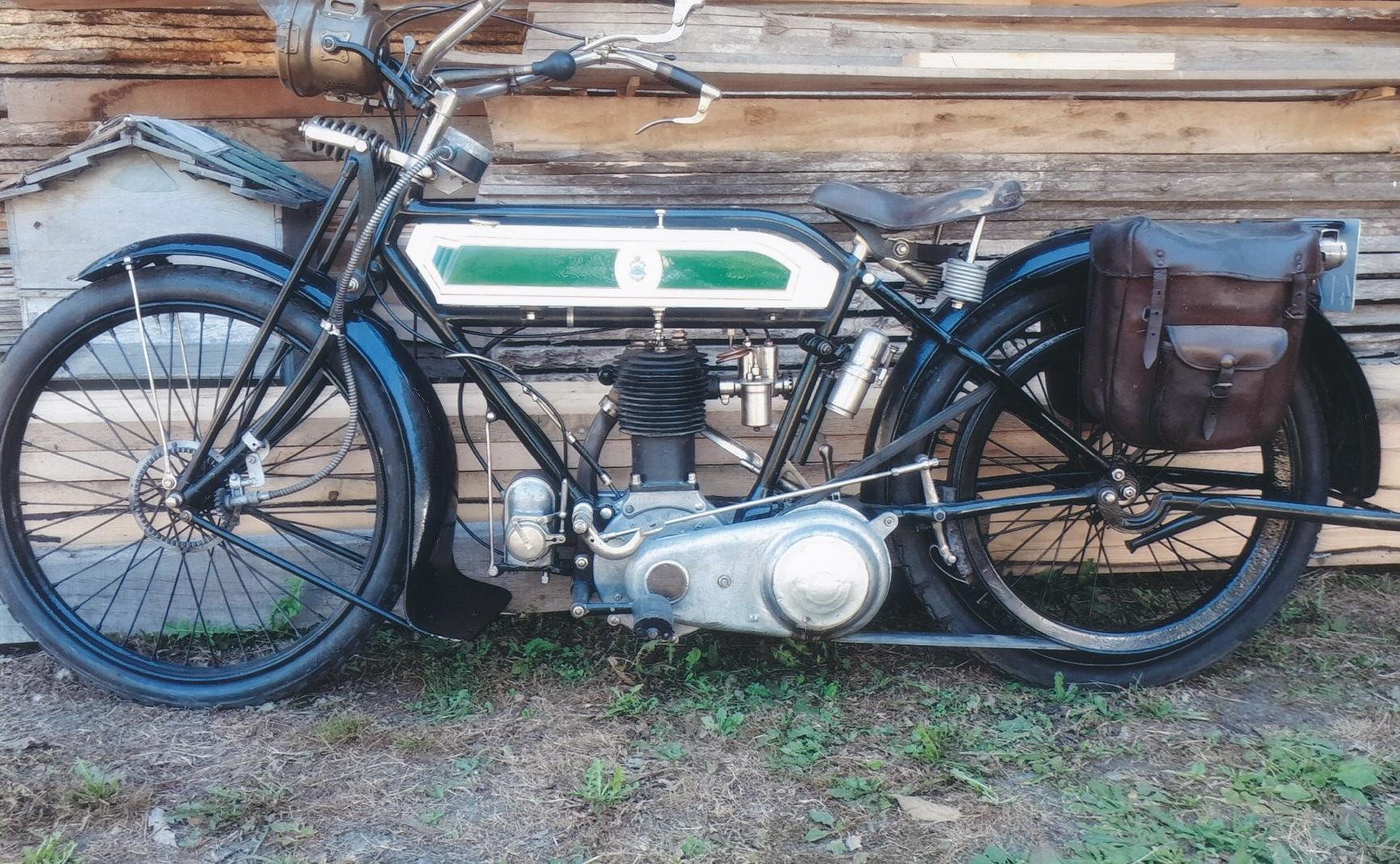 Triumph Type H 550cc 1916 ( FR ) DARRE RENE