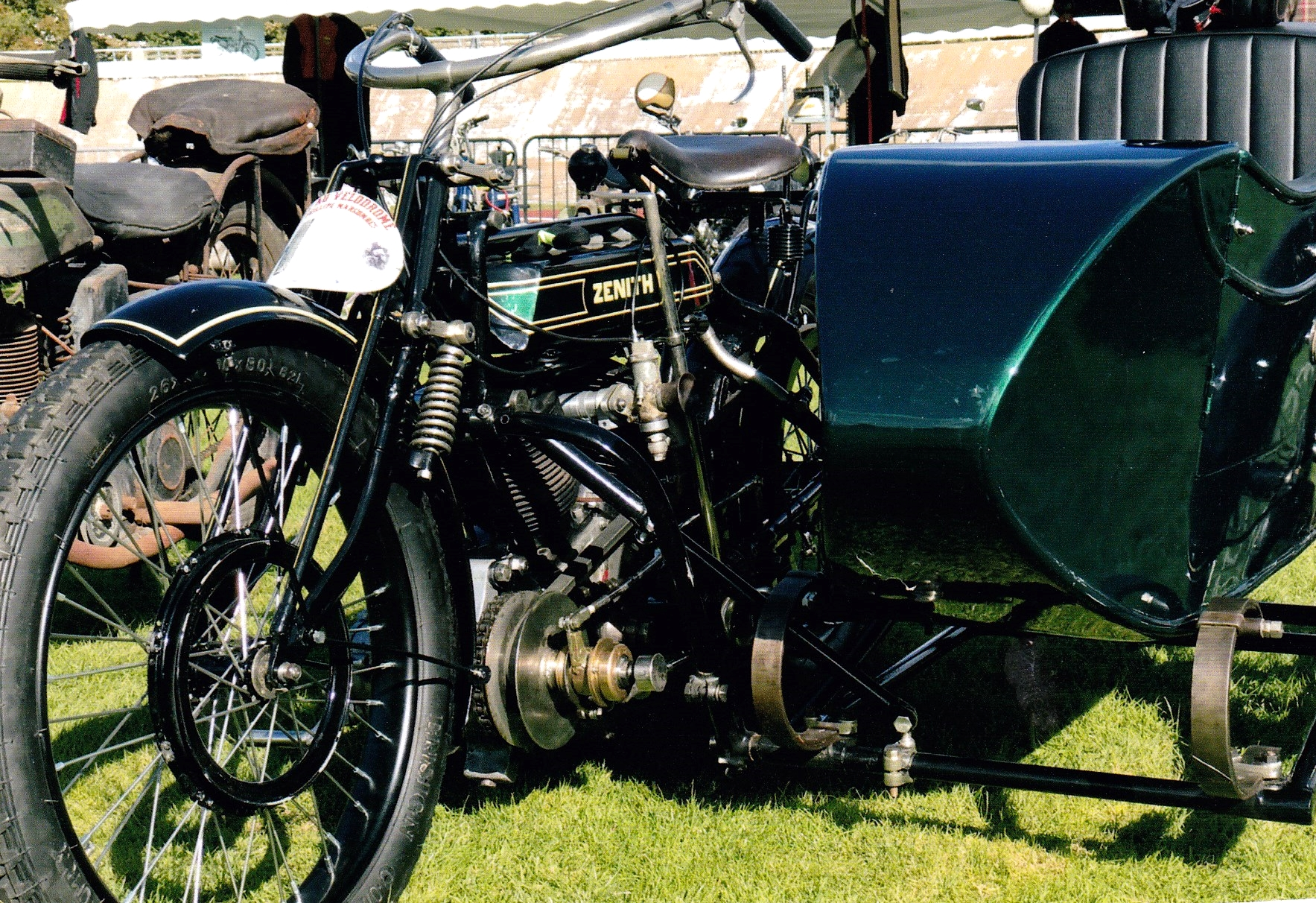 Zenith Gradua 830cc Side-car 1914 ( FR ) ABRAHAM Dominique